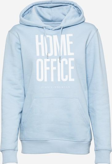 EINSTEIN & NEWTON Sweatshirt 'Home Office' in hellblau / weiß, Produktansicht