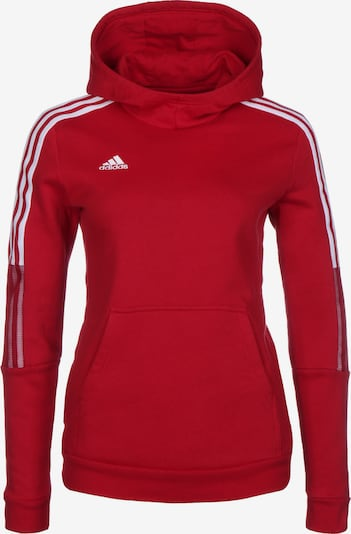 ADIDAS PERFORMANCE Athletic Sweatshirt in Red / White, Item view