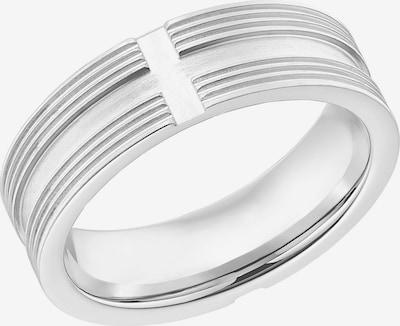 s.Oliver Ring 'Kreuz' in silber, Produktansicht