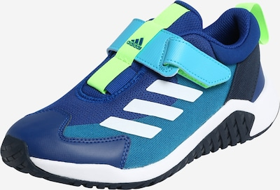 Sportiniai batai iš ADIDAS PERFORMANCE , spalva - mėlyna / turkio spalva / neoninė žalia / balta, Prekių apžvalga