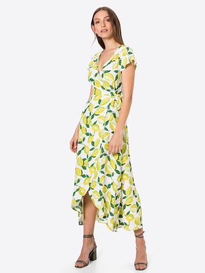 Fabienne Chapot Kleid 'Archana' in gelb / grün / weiß, Modelansicht