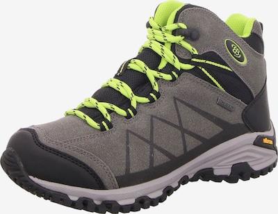 Brütting Boots in de kleur Neongeel / Grijs, Productweergave