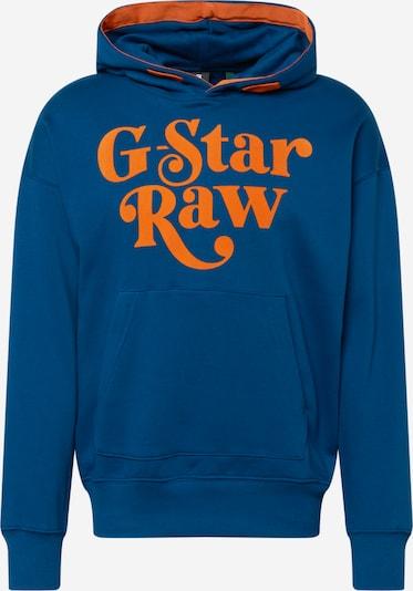 G-Star RAW Sudadera en azul / naranja, Vista del producto