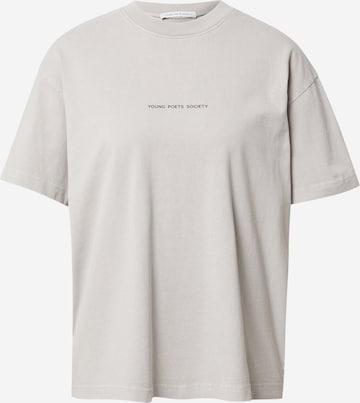 Young Poets Society - Camiseta talla grande 'Be a poem Pria 214' en gris