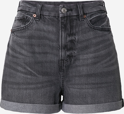 Jeans American Eagle pe negru denim, Vizualizare produs