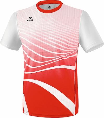 ERIMA T-Shirt in rot / weiß, Produktansicht