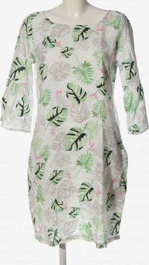 Chelsea Rose NYC Blusenkleid in M in hellgrau / grün / weiß, Produktansicht