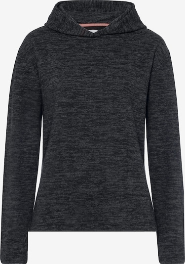 Cross Jeans Sweatshirts in grau / schwarzmeliert, Produktansicht