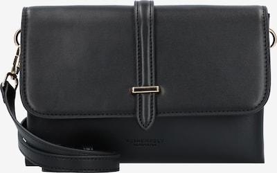 Seidenfelt Manufaktur Umhängetasche 'Orland' in schwarz, Produktansicht