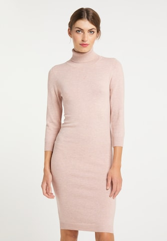 usha BLACK LABEL Knitted dress in Pink