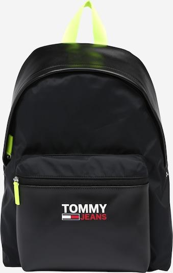 Tommy Jeans Rucksack CAMPUS TWIST' in neongelb / rot / schwarz / weiß, Produktansicht