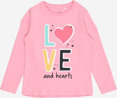 Guppy Camiseta 'FLOOR' en azul neon / lima / rosa / rosa neón / negro, Vista del producto