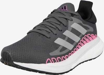 ADIDAS PERFORMANCE Laufschuh in grau / dunkelpink / schwarz, Produktansicht