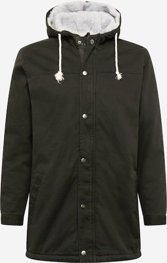 Ilga rudeninė-žieminė striukė iš Denim Project , spalva - juoda / balta, Prekių apžvalga