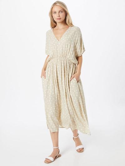 Samsoe Samsoe Kleid 'Andina' in beige / weiß, Modelansicht