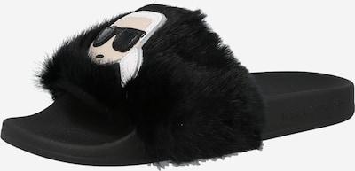 Karl Lagerfeld Pantolette 'KONDO' in nude / schwarz / weiß, Produktansicht