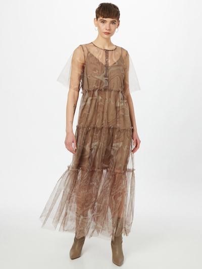 JUST FEMALE Kleid 'Bey' in braun / taupe, Modelansicht