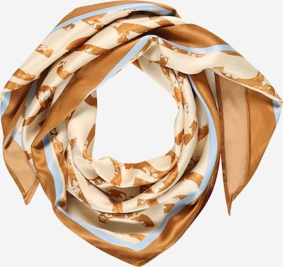 ESPRIT Tørklæde i creme / sand / lyseblå, Produktvisning