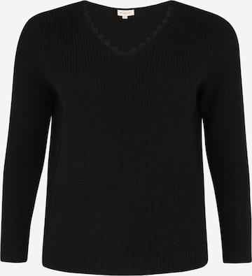 ONLY Carmakoma Пуловер 'JENNIE' в черно