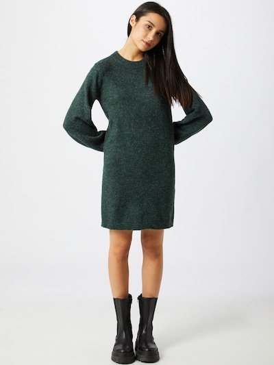 OBJECT Kleid 'EVE NONSIA' in dunkelgrün, Modelansicht