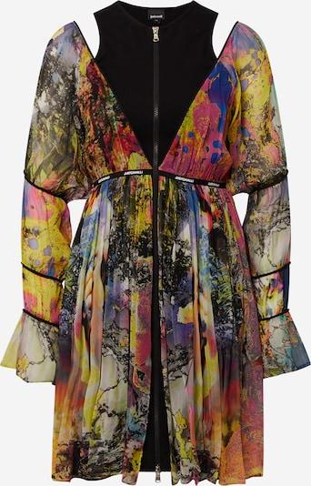 Just Cavalli Robe en mélange de couleurs, Vue avec produit