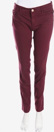 Stradivarius Skinny Pants in XL in burgunder, Produktansicht