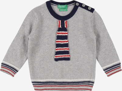 UNITED COLORS OF BENETTON Pullover in graumeliert / mischfarben, Produktansicht