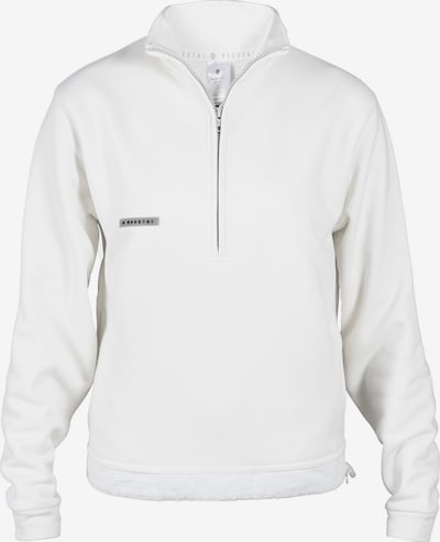 MOROTAI Athletic Sweater 'Homely Hoodie' in White, Item view