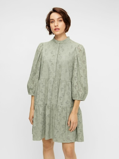 Y.A.S Kleid in rauchgrau, Modelansicht