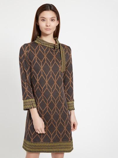 Ana Alcazar A-Linien Kleid ' Beemi ' in braun, Modelansicht