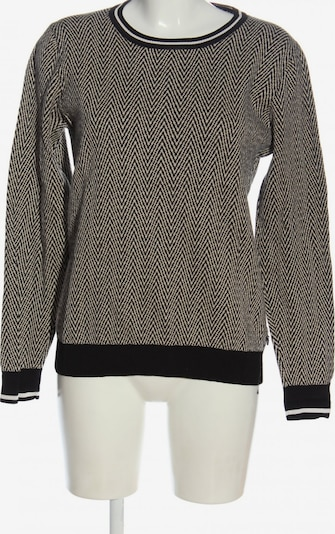 MAISON SCOTCH Sweater & Cardigan in L in Black / Wool white, Item view