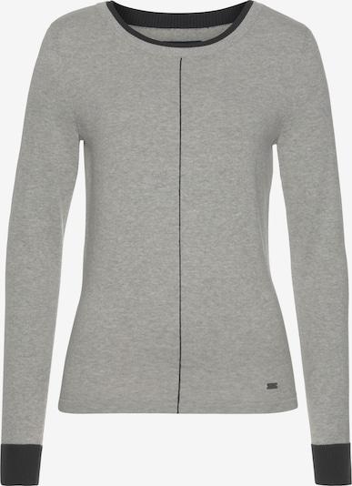 ARIZONA Pullover in hellgrau / dunkelgrau, Produktansicht