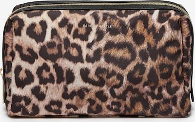 Estella Bartlett Kozmetična torbica | karamel / kostanj rjava / kapučino barva, Prikaz izdelka