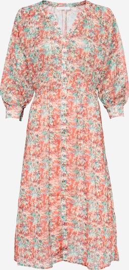 Freebird Kleid in türkis / jade / pink / orangerot / naturweiß, Produktansicht