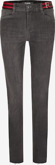 Angels Jeans in grau / rot / schwarz / silber, Produktansicht