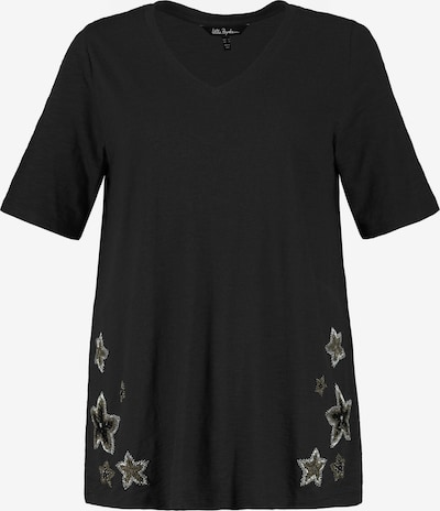 Ulla Popken T-Shirt in schwarz, Produktansicht
