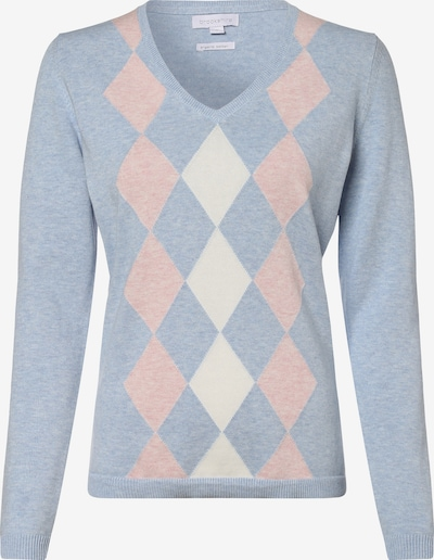 Brookshire Pullover in hellblau / hellpink / weiß, Produktansicht