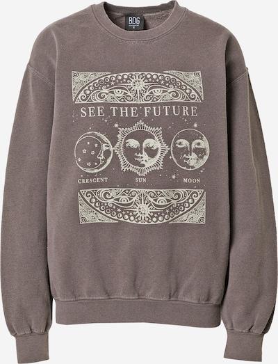 BDG Urban Outfitters Sweatshirt 'See The Future' in braun / weiß, Produktansicht