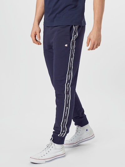 Champion Authentic Athletic Apparel Hose in navy / weiß, Modelansicht