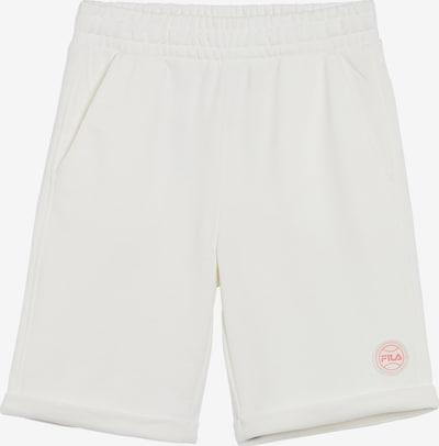 Pantaloni 'Percy' FILA pe roșu / alb, Vizualizare produs