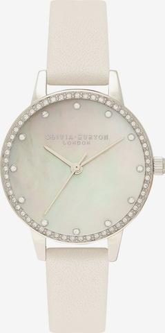 Olivia Burton Analog Watch in White