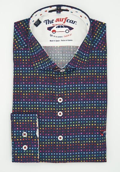 The Surfcar Hemd mit bunten Quadraten in mischfarben, Produktansicht