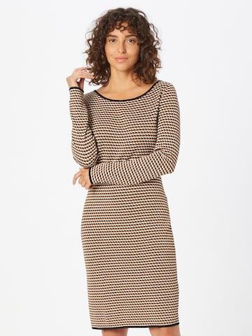 COMMA Gebreide jurk in Gemengde kleuren