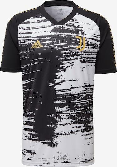 ADIDAS PERFORMANCE Trikot 'Juventus Turin Pre-Match' in gold / schwarz / weiß, Produktansicht