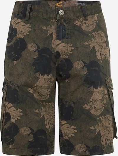 CAMEL ACTIVE Shorts in braun / oliv / dunkelgrün, Produktansicht
