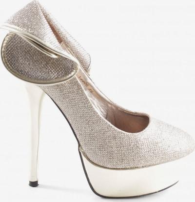 Belle Women High Heels & Pumps in 39 in Gold, Item view