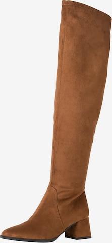 ruda TAMARIS Ilgaauliai batai virš kelių