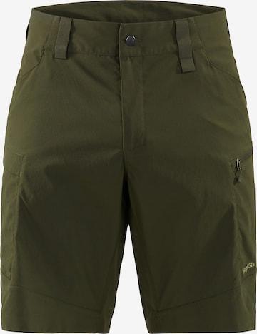 Pantalon outdoor Haglöfs en vert