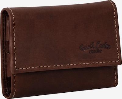 Gusti Leder Schlüsseltasche 'Leslie' in braun / dunkelbraun, Produktansicht