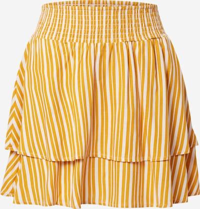 sárga / fehér ONLY Szoknyák 'AURORA', Termék nézet